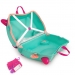 Trunki Fiona the Fairy - Lentolaukku Turkoosi