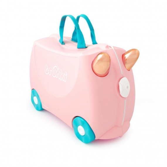 Trunki Flossie the Flamingo - Lentolaukku Roosa