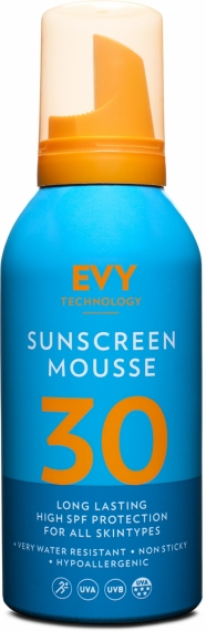 Solskydd Mousse SPF 30 - EVY Technology