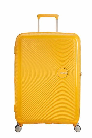 American Tourister Soundbox 77cm - Iso Keltainen